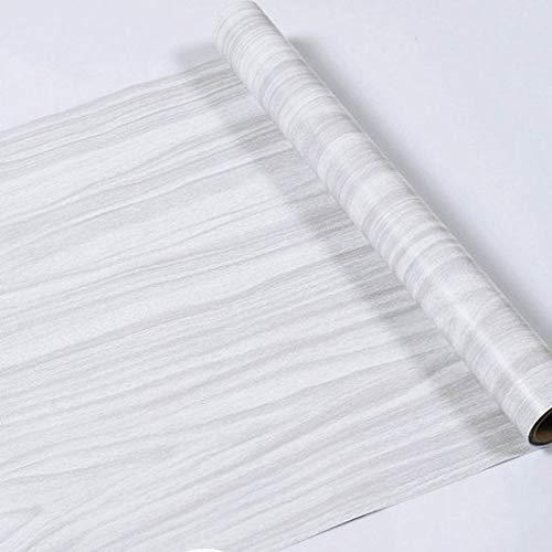 lsaiyy Neue Holzfarbe Holzmaserung Tapete Anti-Board Holzimitat Tür Aufkleber Boden Selbstklebende Wandaufkleber Tapete-45CMX3M