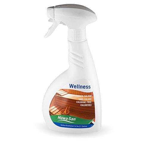 Huwa-San Wellness Sauna Desinfektionsmittel ohne Chlor (500ml, für alle Saunen) Test