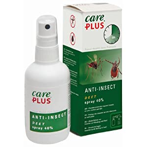 Care Plus Campingartikel Anti Insect Deet 40% Spray 100ml, TP32421