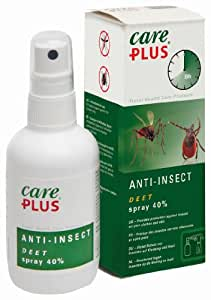 Care Plus Campingartikel Anti Insect Deet 40% Spray 100ml, TP32421