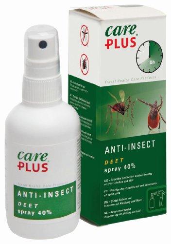 Care Plus Campingartikel Anti Insect Deet 40{b74b6a0463a231f305bbf32fd5ec9130151ca3a44060661fec18be5aefd4c0db} Spray 100ml, TP32421
