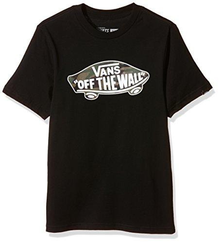 Vans - OTW LOGO FILL BOYS, T-shirt Bambino, Nero (black/camo), Medium ( Medium)