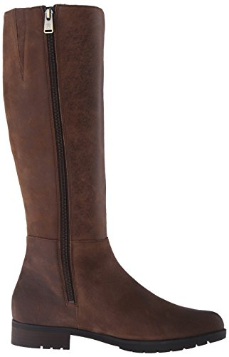 Rockport Tristina Tall Veste imperméable Bottes d'équitation pour Clover Distressed Leather Waterproof
