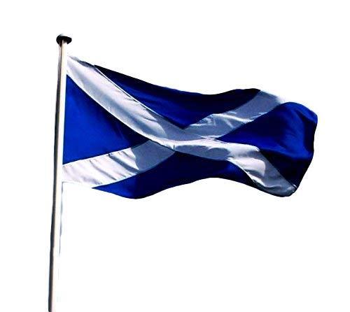 Schottland–St. Andrews Kreuz–Scottish Saltire Flagge, Schottische Supporter 's Flagge–5ft x 3ft (90x 150cm)–Superior Qualität Nylon–nicht billiger/ärmeren Polyester