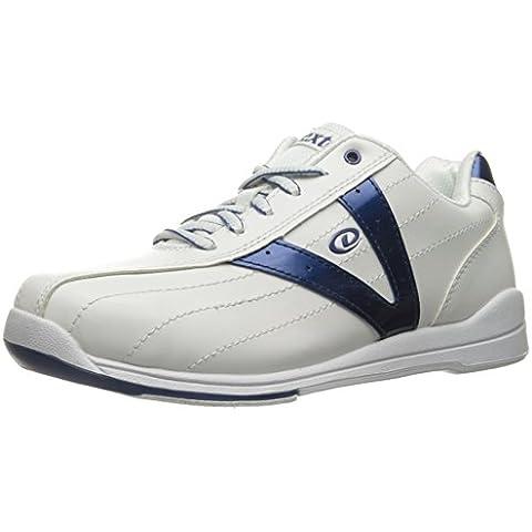 Dexter Vicky - Zapatos de bolos para mujer, color azul y blanco blanco blanc y azul Talla:US 9, UK 6.5