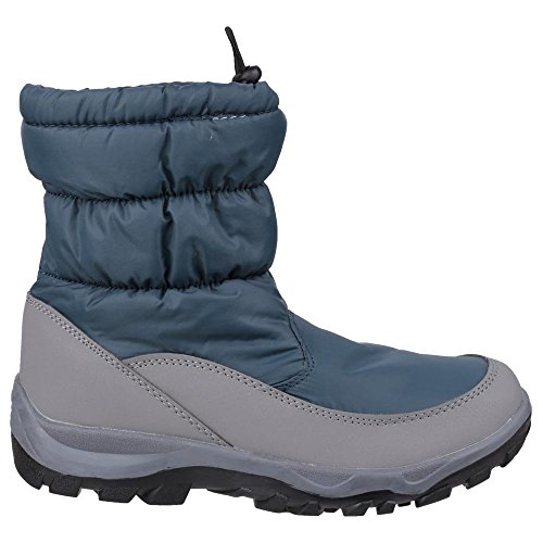 Toggle Snow Polar Ladies Royal Cotswold Lined blue Fleece Fastening Boot qCFPYxfwE