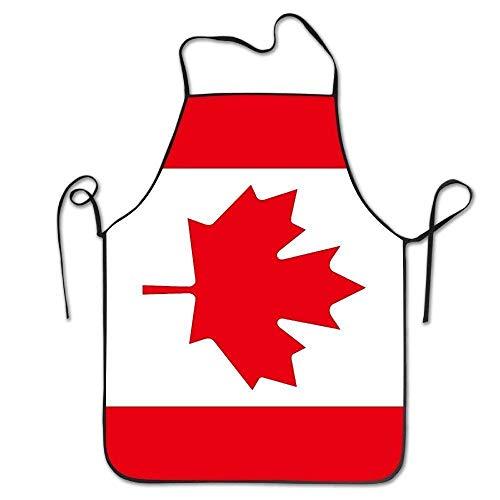LarissaHi Unisexflagge von Kanada Nettes lustiges großes Hauptgeschenk für Henne BBQ-Koch-Kochs-Schutzblech, das professionelle Erwachsen-Schellfisch-Geschenke kocht