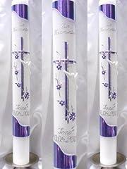 Idea Regalo - Battesimo candela comunione candela giovane 400/40 mm VT-33 con accessori per sé stessi ma anche scrivere