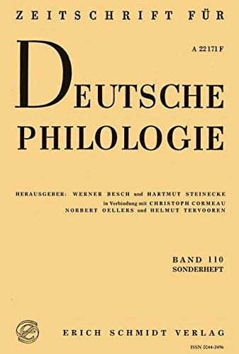 Mittelhochdeutsche Grammatik als Aufgabe (Sonderhefte der Zeitschrift für deutsche Philologie)