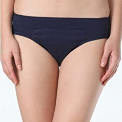 Adira Womens Cotton Hipster ,Navy Blue ,Small