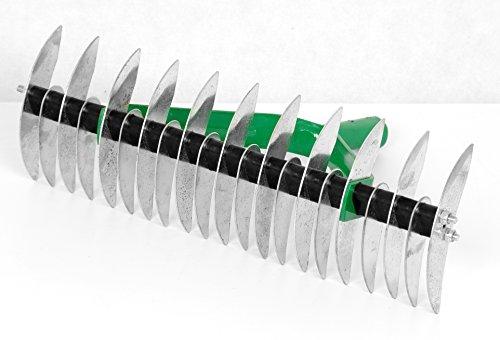 Handvertikutierer 35cm Schneidrechen Vertikutierer Rasenlüfter Harke Rechen TMX