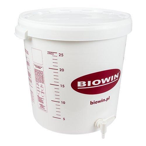 Cuves de fermentation Seaux de fermentation 30L pour bière ou vin avec robinet d'écoulement et...