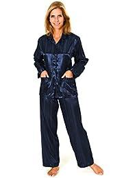 9d8530e8ca4810 Normann Copenhagen Satin Pyjama Streifendessin - innen angeraut 251 201 94  010