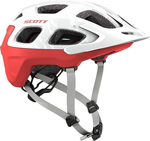 SCOTT Vivo MTB Fahrrad Helm weiß/rot 2018: Größe: S (51-55cm)