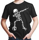 HARIZ Jungen T-Shirt Dab Skelett mit