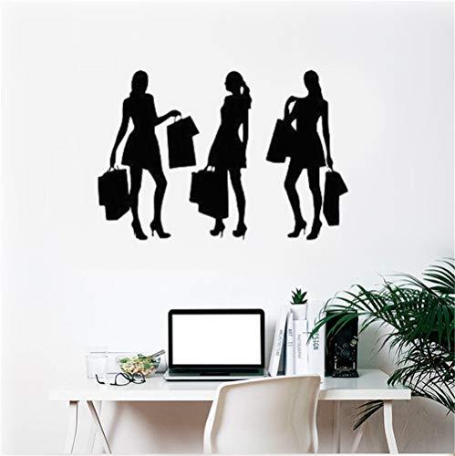 Baumstämme Kostüm - Wandtattoo Schlafzimmer Einkaufszentrum Fashion Style Trends Kostüm Kleidung Aufkleber für Mädchen Schlafzimmer Wohnzimmer