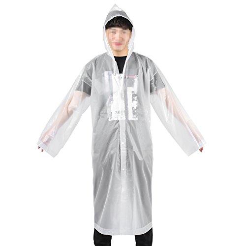 XY Life Regenponcho Wiederverwendbar Wasserdicht Atmungsaktiv Wandern Regencape Für Damen Herren Erwachsene, 160-190cm, EVA