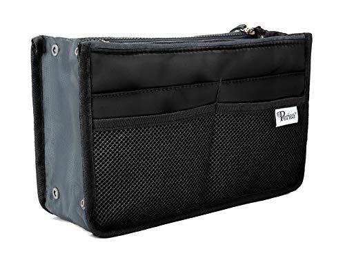 Periea Handtaschen-Organizer - Chelsy - 28 Farben erhältlich - Klein, Mittel & Groß (Schwarz, Mittel) (Alte Menschen Outfits)