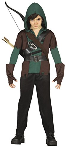 Jahre Bogenschütze Robin, U (85704.0) (Robin Halloween Kostüme)