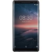 Nokia 8Sirocco Smartphone (5.5oled Display, 128GB ROM, 6GB RAM, 12+ 13MP fotocamera principale, 5MP fotocamera frontale, Single Sim, LTE, Android 8Oreo) Nero