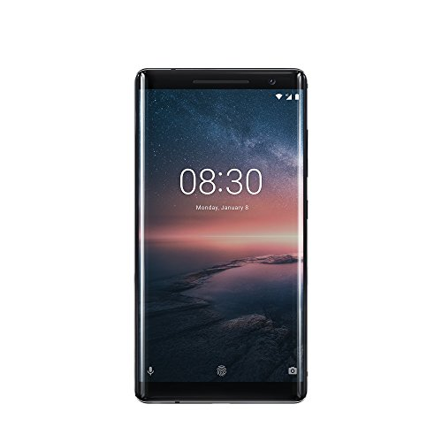 "Nokia 8 Sirocco 4G 128GB Negro - Smartphone (14 cm (5.5""), 128 GB, 12 MP, Android, O, Negro)"