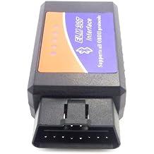 Top Elecs Auto ELM327 V1.5 interfaz Bluetooth OBD 2 OBD-II de diagnóstico del coche auto del explorador