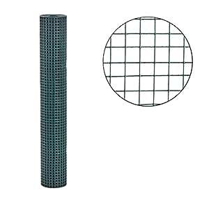 Volierendraht grün 1m x 10m 16x16mm Maschung Drahtgitter Maschendraht Schweißgitter Zaun