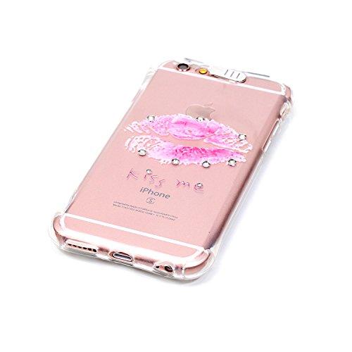 """Coque iPhone 6S Plus, MOONCASE iPhone 6 Plus Etui Ultra Mince Coque Housse Silicone Parfait Cover Case avec Absorption de Choc pour iPhone 6 Plus(2014) / 6s Plus(2015) 5.5"""" - YX03 Série de diamants - YX06"""