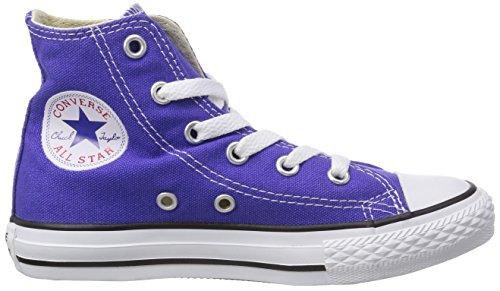 Converse - Youths Chuck Taylor All Star Hi - Sneakers Basses - Mixte Enfant Violet