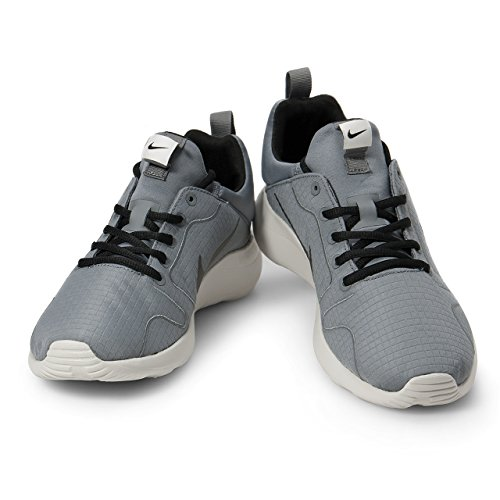 Basket, couleur Gris , marque NIKE, modèle Basket NIKE NIKE KAISHI 2.0 PREM Gris Grau (Cool Grey/Black/Light Bone)