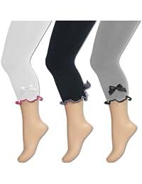 Kinder Leggings aus Baumwolle für Mädchen