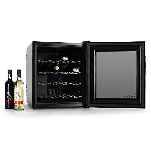 Klarstein MKS-1 - Enfriador de vino (Independiente, Negro, Negro, Negro,...