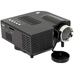 Hotaluyt UC28 + 1080P Full HD Projecteur de cinéma Maison écran VGA/USB/SD/AV/HD Multimedia Projecteur