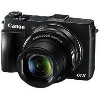 Canon PowerShot G1X Mark II Camera (12.8 MP, 5x Optical Zoom) 3 inch Touch Screen - Black