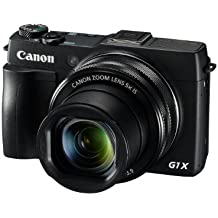 Canon 9167B012 PowerShot G1X Mark II Camera (12.8 MP, 5x Optical Zoom) 3 inch Touch Screen - Black