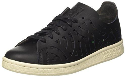 adidas Stan Smith Cutout, Chaussures de Tennis Femmes, Noir Core Black/Off White, 38 EU