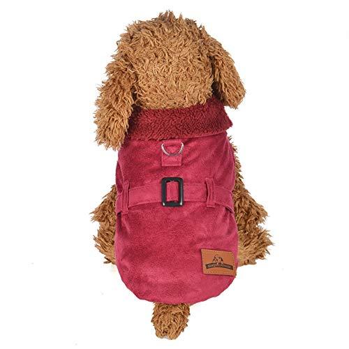 Niedliche Hunde Kostüm Super - Bluelucon Weihnachten Niedlich Hundebekleidung Super weich Fleece Kostüm Hundemantel Jacke Pet Supplies Kleidung Hunde Warme Mode Pullover Mit Kapuze