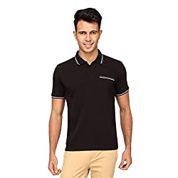 Proline Mens Black Polo(BE224BK)