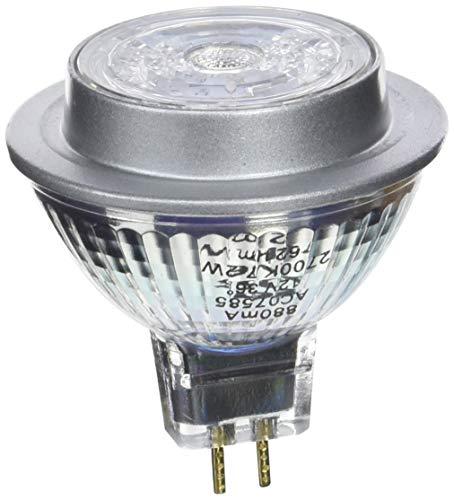 OSRAM LED STAR MR16 / Spot LED, Culot GU5.3, 7,2W Equivalent 50W, 12 V, Angle : 36°, Blanc Chaud 2700K, Lot de 10 pièces