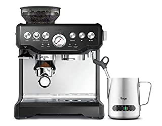 SAGE SES875 the Barista Express, Siebträger mit Manometer-Anzeige, 15 Bar, Glänzend Schwarz (B07KXCTRF6) | Amazon price tracker / tracking, Amazon price history charts, Amazon price watches, Amazon price drop alerts
