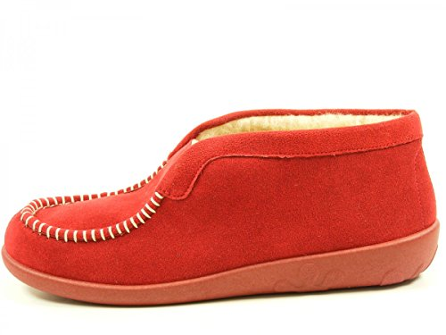 Rohde Ballerup 2236 Chaussons femmes Rouge