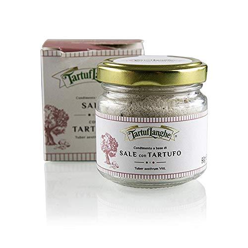 Trüffelsalz mit Sommertrüffel Tuber Aestivum, Tartuflanghe, 90 g