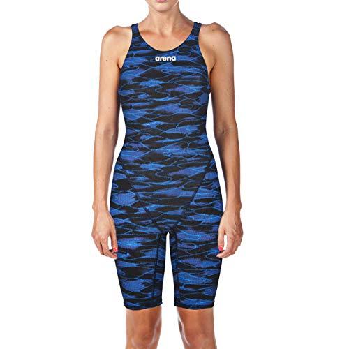 arena Damen Powerskin ST 2.0 Einteiliger Renn-Badeanzug, Damen, Women's Powerskin St 2.0 Le Open Back Racesuit, Blau/Royal, 24