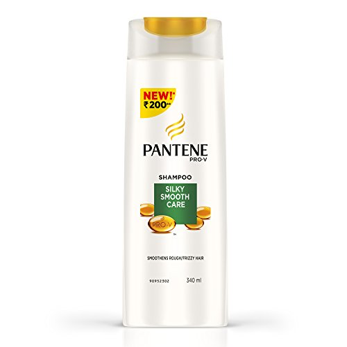 Pantene Silky Smooth Care Shampoo, 340ml