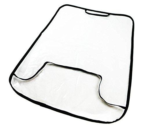 Auto Rücksitz schoner Rückenlehnenschutz Sitzschoner Lehnenschutz Transparent [030]