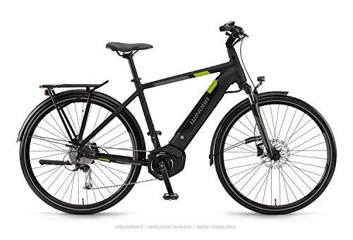 Unbekannt Winora Yucatan i9 500 Pedelec E-Bike Trekking Fahrrad schwarz 2019: Größe: 60cm
