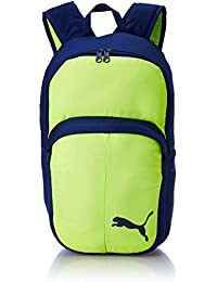 Puma Safety Yellow-Blue Depths Casual Backpack (7489807)