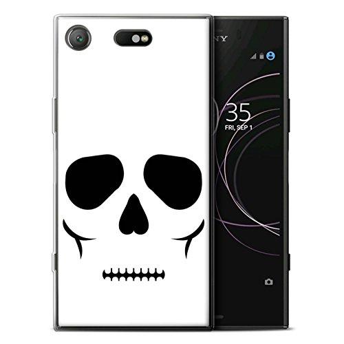 (Stuff4®Phone Fall/Cover/Haut/sxpxz1C-gc/Halloween Character Collection, Totenkopf)