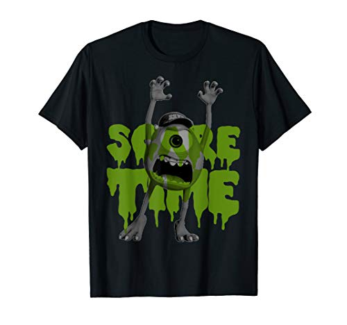 Disney Pixar Monsters Inc. Mike Scare Time Graphic T-Shirt
