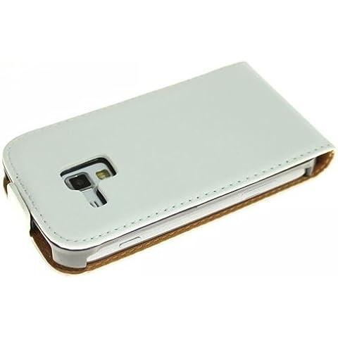 Semoss - Funda de piel con tapa para Samsung Galaxy Trend GT-S7560 / Galaxy S Duos S7562